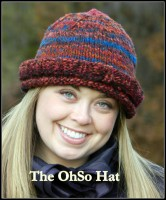 Ravelry – The OhSo Hat: Easy, Warm, Double-Brimmed, Knitting Pattern by Lee Bernstein
