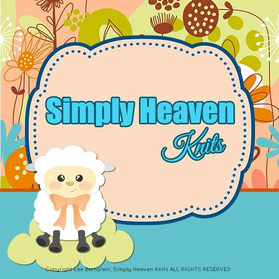 Come Visit Simply Heaven Knits on Etsy – Lee Bernstein's Knitting Patterns, Fine Hand Knits and More